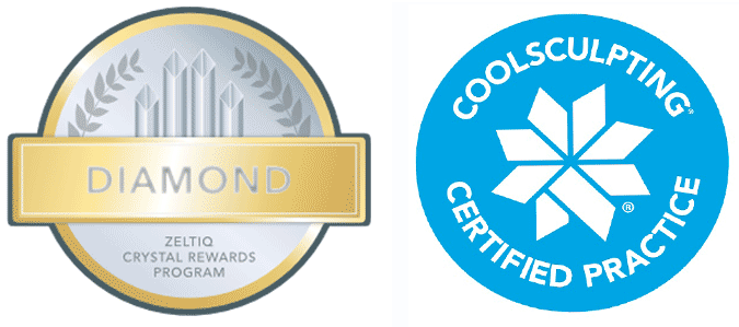 CoolSculpting Certified Practice and CoolSculpting Diamond Award Practice